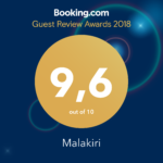 Guest-review-Awards-2018-Malakiri-bed-and-breakfast-Sperlonga